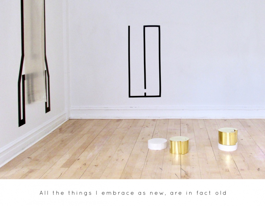 All the things I embrace as new, are in fact old