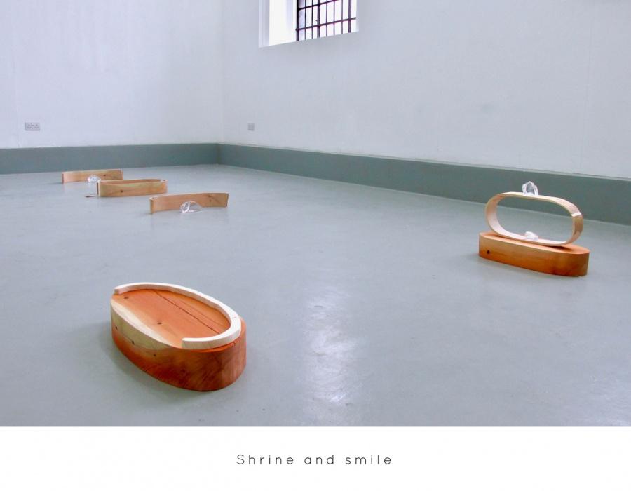 Shrine and smile